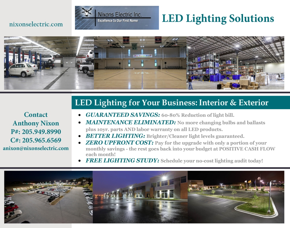 LED Lighting - Nixons Electric